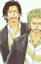 Ace X Zoro by AmelieCastroOlivera