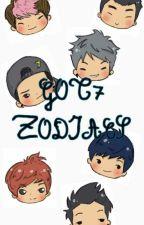 Got7 Zodiac by jishwithtinypaws
