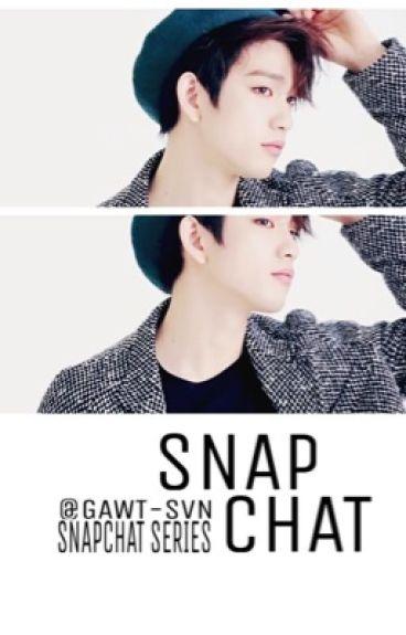 snapchat; jinyoung