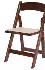 Fruitwood Wood Folding Chair  - Larry Hoffman Chair by foldingtablesca