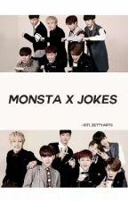 Monsta X Jokes  by Siti_ZettyArts