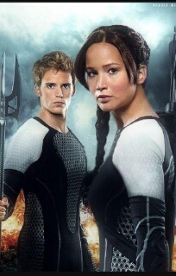 Katniss y Finnick: En Llamas