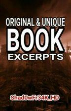 Original & Unique Book Excerpts by RhyanSparksIsSFHD