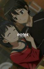 notes + yoonkook by Jazeunmin