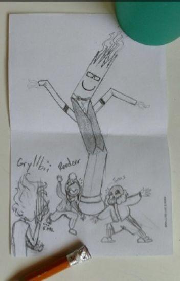 Dropped // Sans x reader [[Slow Updates]]