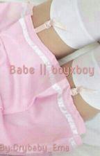 Babe || boyxboy interracial by Crybaby_Ema