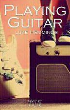 Playing Guitar (l.h) [Réécriture] by Mylene-Peace-