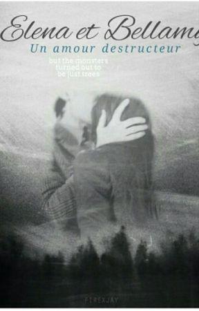 Bellamy Blake et Elena Gilbert, un amour destructeur - The 100 by leaaaah4