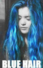 Blue Hair by Nana-Bananas