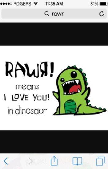 Rawr A Dinosaur Love Story