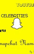 Famous Snapchat Names by Tiera_Ali