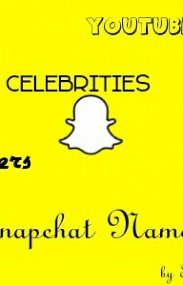 Famous Snapchat Names