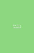dear diary - soonhoon by woozistic