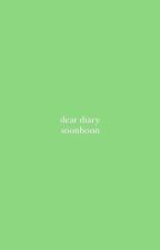 dear diary ➳ soonhoon [done] by woozistic