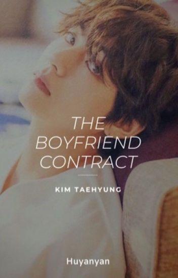 Boyfriend Contract » Taehyung ✔