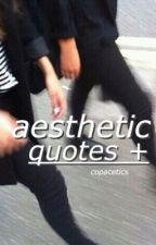aesthetic quotes + by copacetics