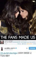 The fans made us (camren) by yojauregui