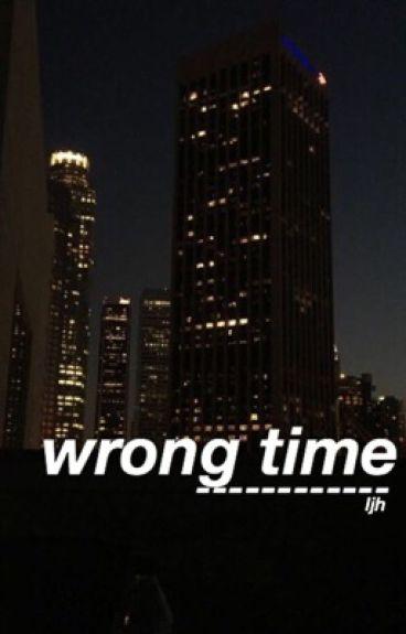 Wrong time {{lee Jihoon}}