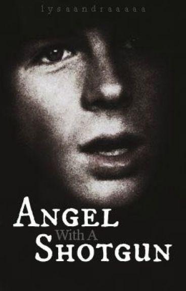 Angel With A Shotgun. [ Carl Grimes ]