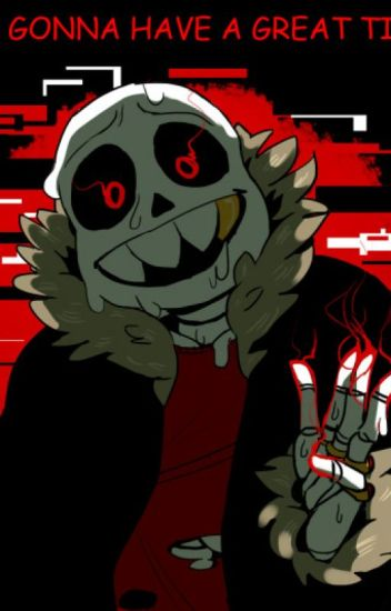 Good little girl, Bad little boy (Underfell!Sans X reader)