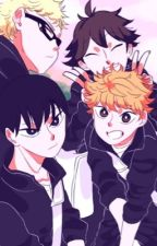 My roommate. [Haikyuu college AU] by kenmom
