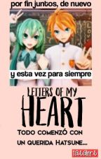 Letters of my heart. ✎Miku x Len by Kyoteru