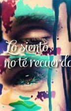 Lo Siento, No Te Recuerdo (Justin Bieber) by RoocioCeeleste