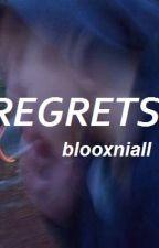 r e g r e t s / / n h by blooxniall