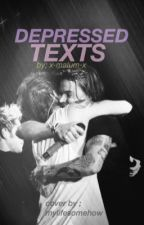 Depressed Texts//Larry Stylinson Au by x-malum-x