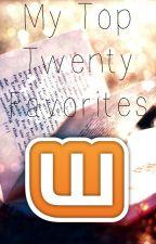 My Top Twenty Favorites (2015) by Kitten_Cuddles1