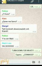 Whatsapp Youtuber y Kiara y Mangela by MangelaRogelMiau