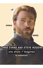 Steve Rogers & Chris Evans imagines by wonderbucky