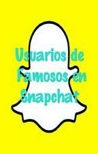 Usuarios De Famosos En Snapchat by nicolepv11