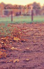 Curiosidades de los signos zodiacales. by crrodriguezz
