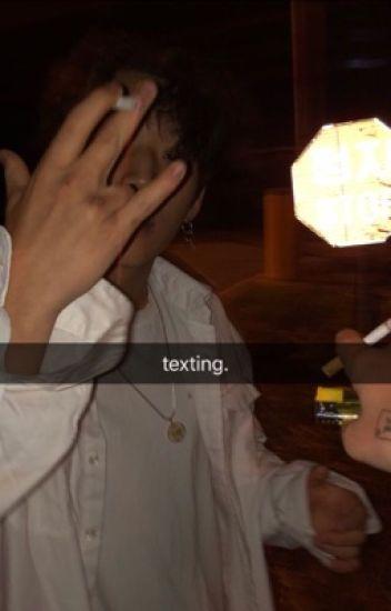 texting, jihope.