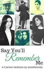 Say You'll Remember Me (Camren) ON HOLD  by aroseforemily