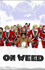 Shingeki no Kyojin: on weed by sippingtears