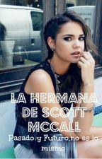 La hermana de Scott McCall by AlexandraManzanilla8