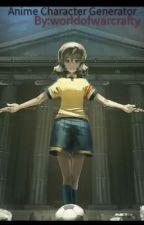 Anime character generator by worldofwarcrafty