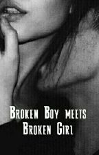 Broken Boy meets Broken Girl by amy_gross