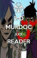 2-D/Murdoc X Reader by hazelmetes_13