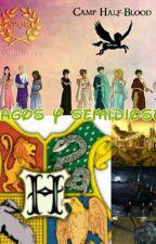Magos Y Semidioses (James Sirius Potter) by lauracaseres2012