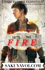 Into the Fire(Maze Runner)- Newt//Gally by SakuyaVolcom