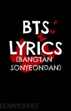 BTS Lyrics by dennyohdee