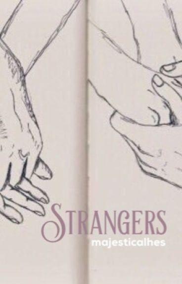 """Strangers."" || h.s au"