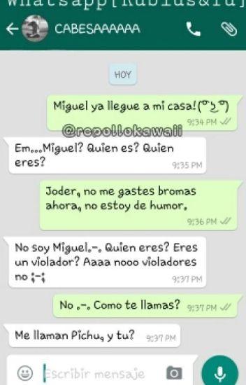 Whatsapp: Y De Repente, Tú...[ElRubiusOMG y Tu] - I\'m a goner. - Wattpad