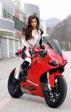 Girl on Motorbike (The Girl That Drove Him Crazy #1) by bubblylauralee