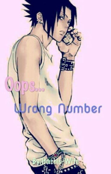 Wrong Number (Fem!Reader x Sasuke)