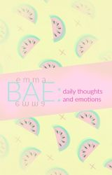 bae ~ daily thoughts and emotions by dan-dere
