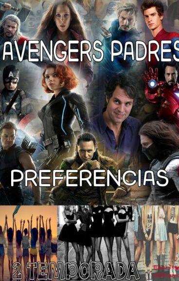AVENGERS PADRES PREFERENCIAS(2 TEMPORADA)